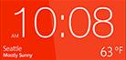 HTC Hub Kachel - WP 8