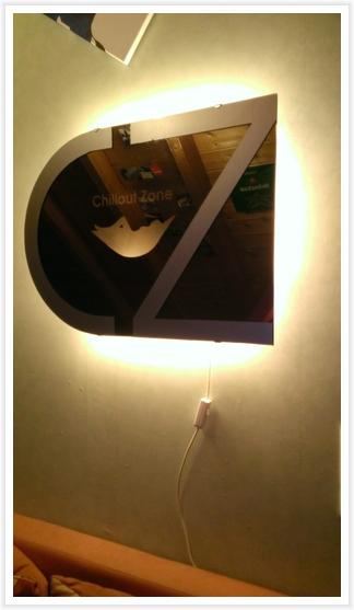 HTC WP8X - Dekospiegel mit Beleuchtung