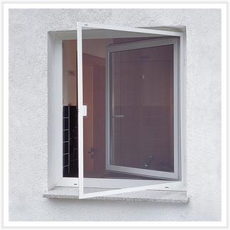 Fenster mit Insektenschutz