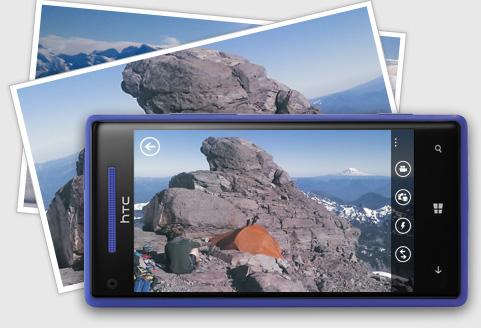 HTC Windows Phone 8X - Kamera